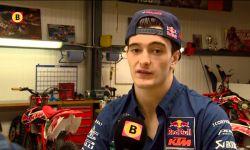Motorcrosser Jeffrey Herlings houdt hoop op wereldtitel