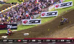 Jeffrey Herlings vs Valentin Guillod MXGP of France 2015 - motocross