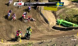 Jeffrey Herlings crash MX2 start Sweden 2015 - motocross