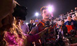 Jeffrey Herlings Emotions Podium MXGP of Qatar 2015 - motocross