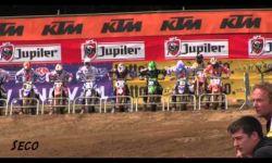 Jeffrey Herlings close of winning the Dutch title in Markelo