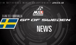 MXGP of Sweden 2013 - NEWS - Motocross