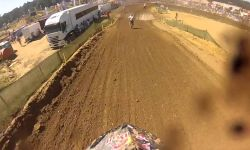 Jeffrey Herlings wide open on a KTM 85cc at Everts and Friends