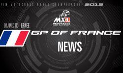 MXGP of France 2013 - NEWS - Motocross
