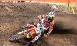 More whips van Jeffrey Herlings + spannende strijd om de tweede plaats in ONK MX2 in Oldebroek