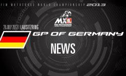 MXGP of Germany 2013 - NEWS Highlights - Motocross