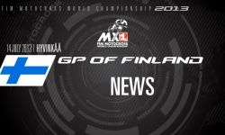 MXGP of Finland 2013 - NEWS - Motocross