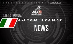 MXGP of Italy 2013 - NEWS - Motocross