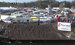 Jeffrey Herlings passes Pauls Jonass MXGP of Europe 2016 MX2 Race 1 - motocross
