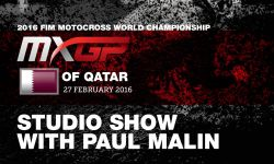 MXGP of Qatar Studio Show with Jeffrey Herlings & Stefan Everts 2016