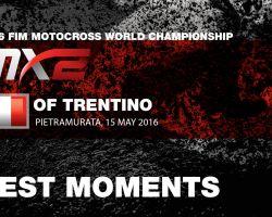 MX2 Qualifying Race Best Moments MXGP of Trentino 2016 - motocross