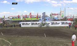 Jeffrey Herlings and Jeremy Seewer Battle MXGP of Germany MX2 race 2 - motocross 2016