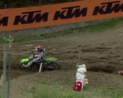 Dylan Ferrandis vs Jeffrey Herlings MXGP of Trentino 2016 - motocross