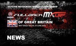 Race Highlights FULLBACK MXGP of Great Britain 2016