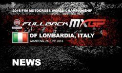 Race Highlights FULLBACK MXGP of Lombardia-Italy 2016