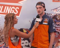 Pit Chat with Jeffrey Herlings MXGP of The Netherlands - Assen 2016 - MXGPTV