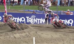 Jeffrey Herlings & Jorge Prado epic battle MXGP of The Netherlands 2016 - motocross