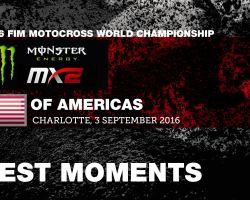 MX2 Best Moments MXGP of Americas 2016