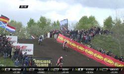 MXGP of Europe Jeffrey Herlings and Romain Febvre battle