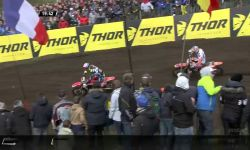 MXGP of Europe Jeffrey Herlings passes Tim Gajser #Motocross
