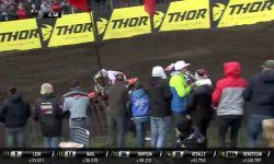 MXGP of Europe Jeffrey Herlings passes Evgeny Bobryshev #Motocross