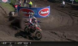 MXGP of Europe Jeffrey Herlings & Jeremy Van Horebeek fight for second place