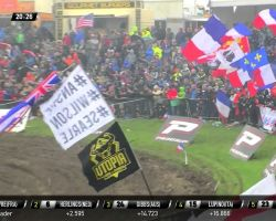 Herlings crashes in race 2 and Febvre passed him - Monster Energy FIM MXoN Presented...