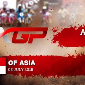 Tim Gajser vs Jeffrey Herlings battle for the lead - MXGP of Asia 2018
