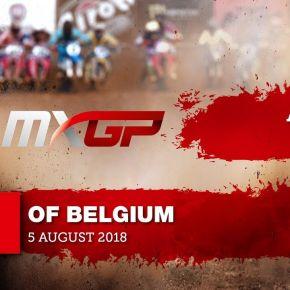 Jeffrey Herlings Crash - Fiat Professional MXGP of Belgium 2018