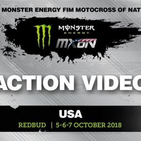 Jeffrey Herlings passes Jorge Prado Monster Energy FIM Motocross of Nations 2018