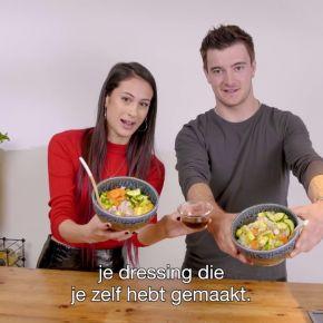 Easy Peasy Vegan Sushi Bowl door Meisje Djamila en Jeffrey Herlings | Helden in de keuken