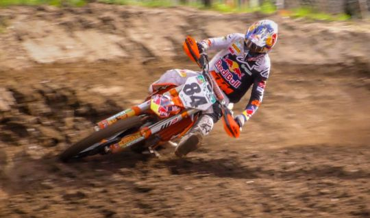 Jeffrey Herlings - Training for MXGP 2020 at Lacapelle (France)